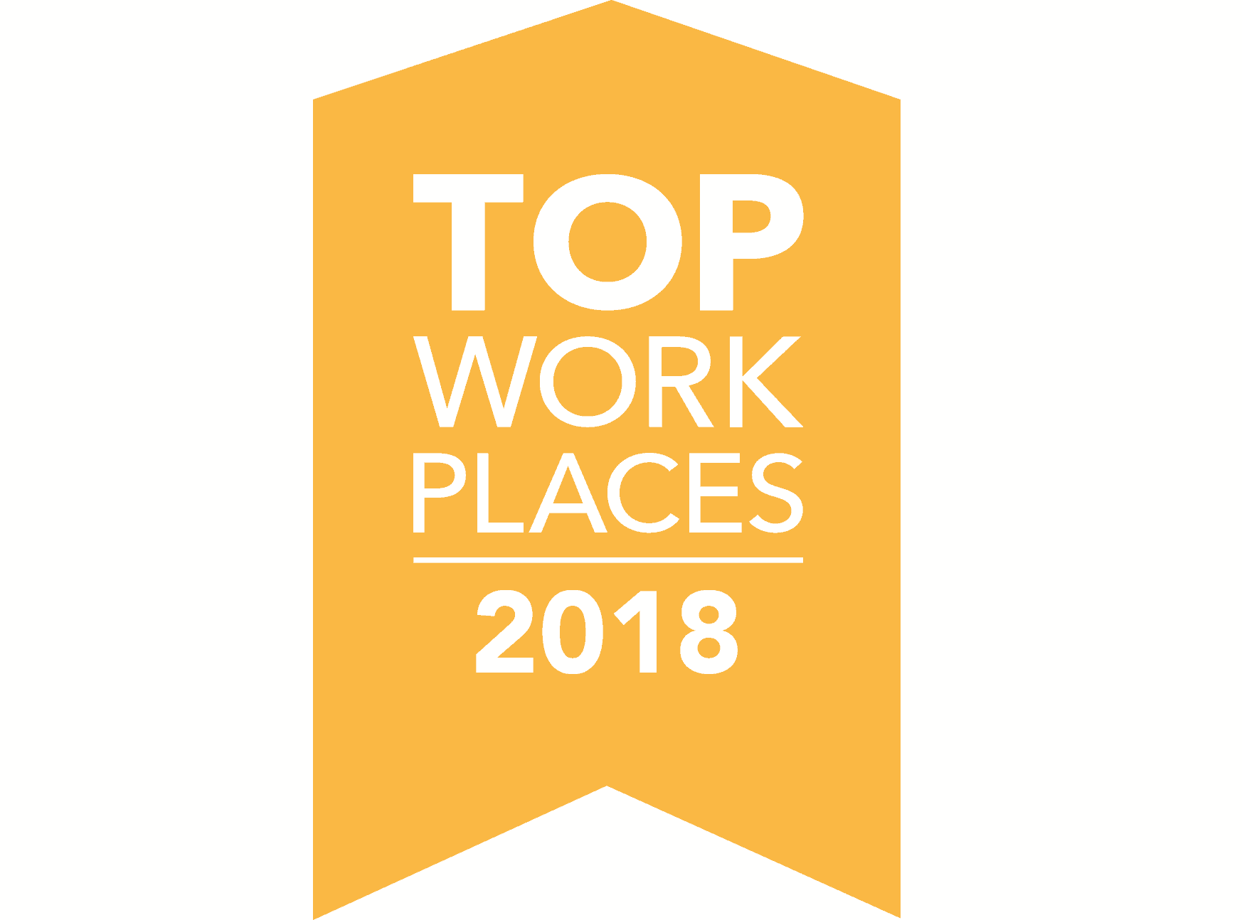 Top Place to Work award