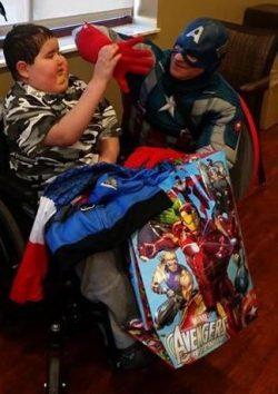 Captain America visit