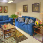 waiting room area at Addison Healthcare Center