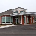 An outside shot of Bridgeport Healthcare Center