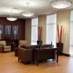 a living room at Bridgeport Healthcare Center