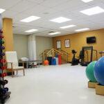 senior rehabilitation gym at Clifton Healthcare Center
