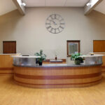 The front desk at Columbus Healthcare Center