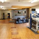 The senior rehab gym at Copley Health Center