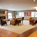 A sitting room at Copley Health Center