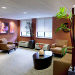a living room at Ellicott City Healthcare Center
