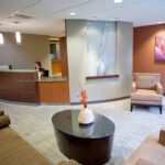 a waiting area at Ellicott City Healthcare Center