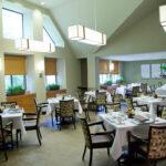 a formal dining room at Ellicott City Healthcare Center