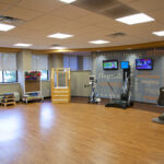 a senior rehabilitation gym at Ellicott City Healthcare Center