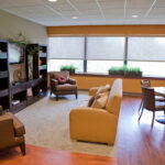 a lounge room at Ellicott City Healthcare Center