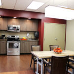 a kitchenette at Fort Washington Health Center