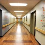 A Fitness 360 hallway at Fort Washington Health Center