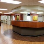 The front desk at Fort Washington Health Center