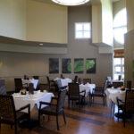 formal dining room at Grande Pointe Healthcare Community