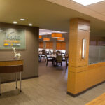 The entrance to Vista Gourmet at Greenbrier Health Center