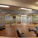 a state-of-the-art gym at Greenbrier Health Center