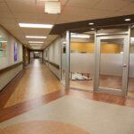 a hallway at Greenbrier Health Center