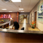 Front desk area of Greenbrier Health Center
