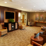 Living room area at Greenbrier Health Center