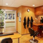 hair salon at Greenbrier Health Center