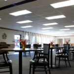 dining room at Hanover Healthcare Center