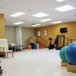 senior rehabilitation gym at Hanover Healthcare Center