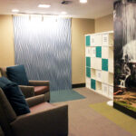 a lounge area at Hanover Healthcare Center