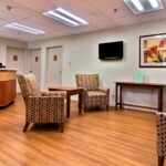 Lobby at Great Lakes Healthcare Center
