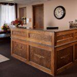 The front desk at Kokomo Healthcare Center