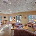 lobby at Southwood Healthcare Center skilled nursing facility
