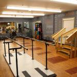 a senior rehabilitation gym at Northwestern Healthcare Center