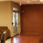 the waiting room at Northwestern Healthcare Center