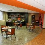 dining room in Orange Spot Bistro