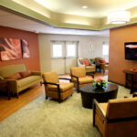 sitting area at Riverside Healthcare Center