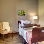 semi private suite at Evergreen Crossing & Loft