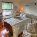 A single bedroom at the Austintown Healthcare Center