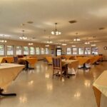 formal dining room at Valley View Healthcare Center