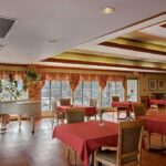 The dining room at Greenfield Healthcare Center