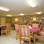 formal dining room at Indian Creek Healthcare Center