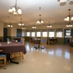 dining room at Rolling Hills Healthcare Center