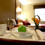 in-suite dining at Laurelwood Healthcare Center
