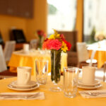 upscale dining room at Laurelwood Healthcare Center
