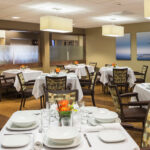 formal dining room at Forestville Healthcare Center