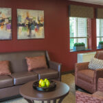 casual sitting room at Forestville Healthcare Center