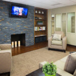 sitting room at Forestville Healthcare Center