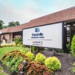 outside sign for Forestville Healthcare Center