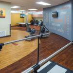 senior rehabilitation gym at Forestville Healthcare Center