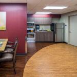 dining room at Forestville Healthcare Center