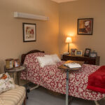 a patient room at Grande Lake Healthcare Center