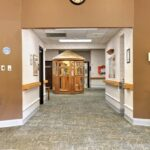 view of the lobby at Valley View Healthcare Center